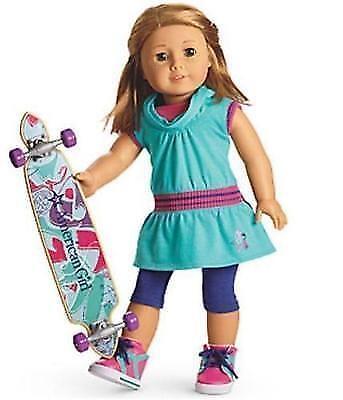 American Girl  Skate Skate Skate Board Outfit with Skateboard 898f5f