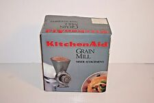 KitchenAid All Metal Grain Mill Attachment With Instruction Manual