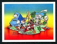 Tanzania 698, MNH, Disney characters  1991. x19171
