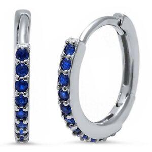 Sapphire-Huggie-Hoop-Earrings-in-Solid-Sterling-Silver-SEPTEMBER-BIRTHSTONE