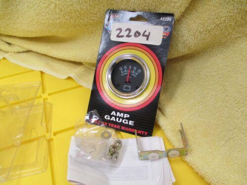 "Make Waves Amp Gauge #2204 2 1//16/"" Diameter"