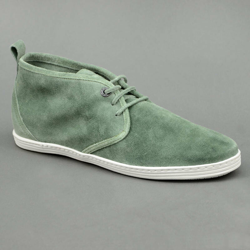 Sax shoes Suede mid Washed Green Mod. 12103