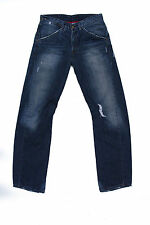 LEVIS 131 Engineered Loose Relaxed Blue Mens Jeans Denim Frayed Twisted W30 L34