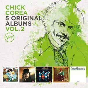 CHICK-COREA-5-ORIGINAL-ALBUMS-VOL-2-5-CD-NEU
