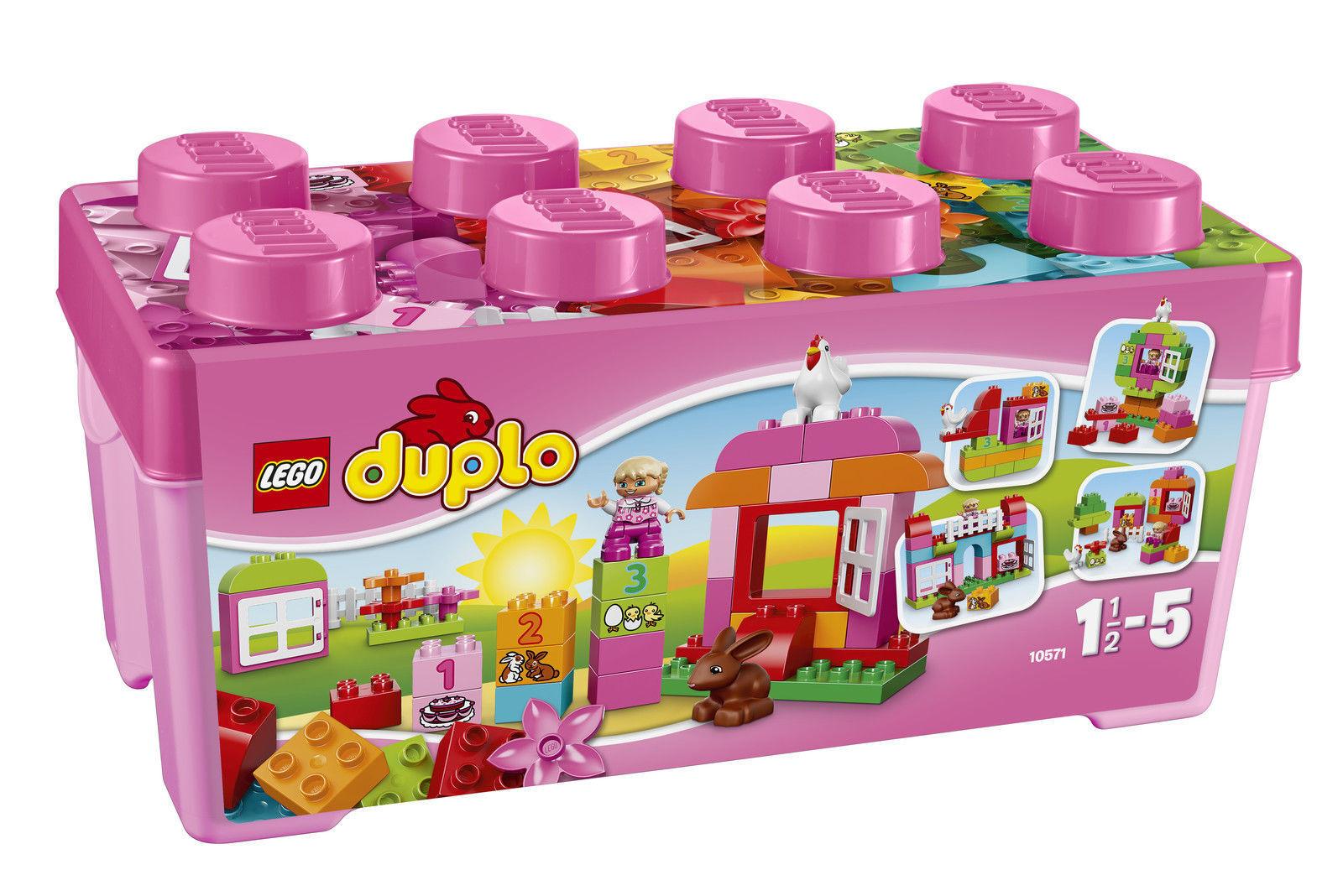 LEGO® Duplo® (10571) Große Steinebox Mädchen inkl Versand Neu & Ovp