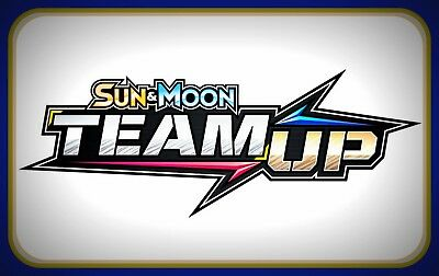 10x Pokemon Sun Moon Team Up PTCGO online code cards