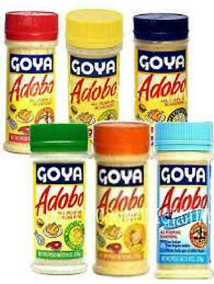 Goya Adobo All Purpose Seasoning Variety Of Flavors Pick One Ebay
