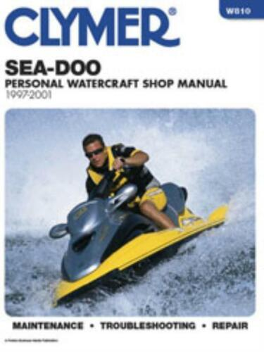 Clymer Workshop Manual Sea-Doo 1997-2001 Personal Watercraft  New Service Repair