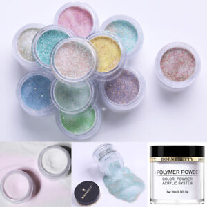BORN-PRETTY-10g-White-Clear-Acrylic-Powder-Liquid-for-Nail-Art-False-Tips-Tool