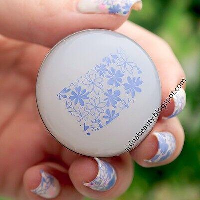4cm Marshmallow Big Round Stamper + Scraper Nail Art Manicure Stamping Tools