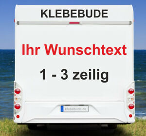 Details Zu Aufkleber Wunschtext Wohnmobil Wohnwagen Camper Camping Caravan Auto Text Spruch