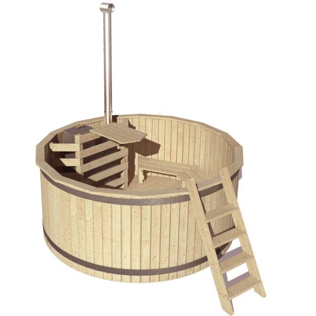 Bain nordique Relaxo Baquet Tonneau Piscine Hot Tube Extérieur