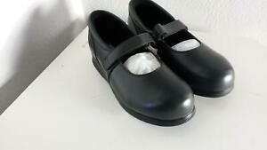 Drew-Bloom-II-NAVY-CALF-Womens-Orthopedic-Shoes-Sz-12-WW-206-New