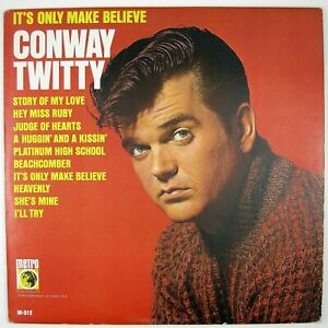 CONWAY-TWITTY-It-039-s-Only-Make-Believe-LP-1966-ROCKABILLY-VG-NM