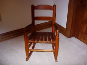 Awesome Details About Vintage Childs Rocking Chair 1950S Beatyapartments Chair Design Images Beatyapartmentscom