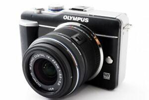 Olympus PEN E-PL1 12.3MP 14-42mm Lens Kit Black[Exc w/8GB SD Card,Strap[506]