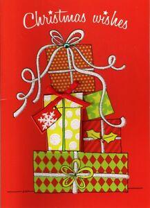 5 GRANDPARENTS NAN GRANDAD CHRISTMAS Greeting Card Craft Sentiment Banner Tags