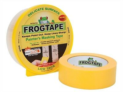 Frog Tape - Delicate Surface Painter's Masking Tape - Yellow