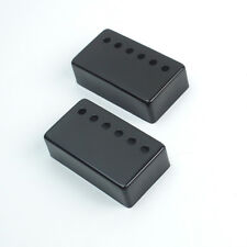 All Metal Humbucker Pickup Cover Set 50/52mm Pole Spacing ,Black