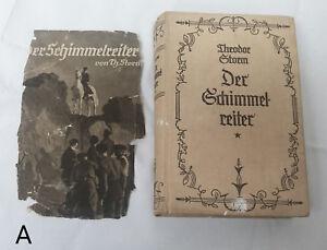 Vintage 1930s Der Schimmelreiter by Theodor Storm White Horse Rider German Novel