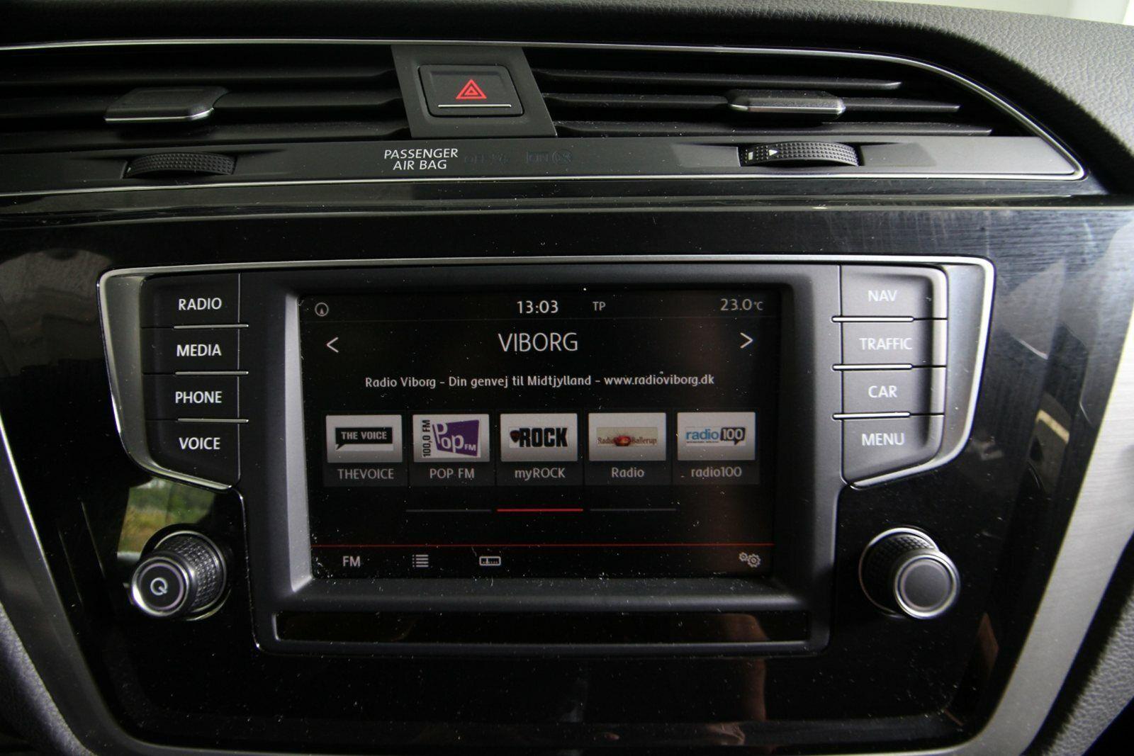 VW Touran TDi 110 Comfortline 7prs