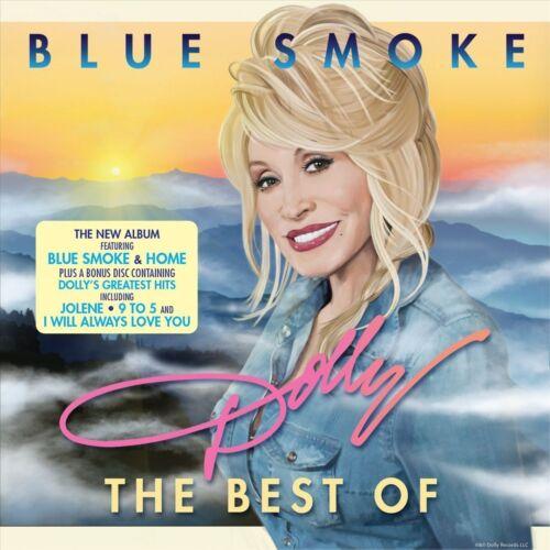 1 of 1 - Dolly Parton - Blue Smoke (2014) 2 DISC SET..BLUE SMOKE CD & BEST OF..SEALED
