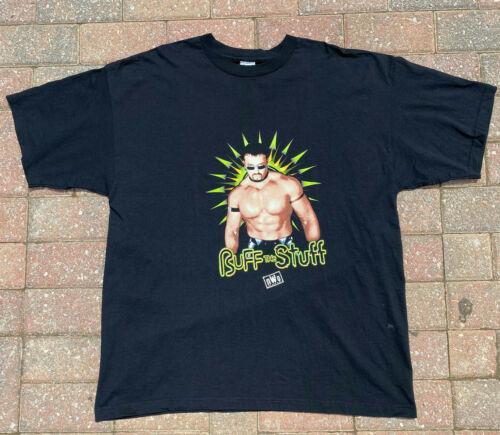 Vintage WCW Wrestling Buff Bagwell XXL T-Shirt T S