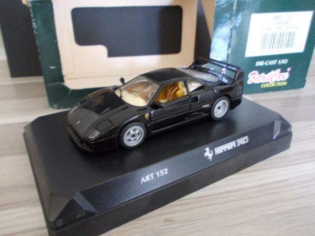 Detail Cars 1 43 Ferrari F40 Met Black Schwarz Ebay