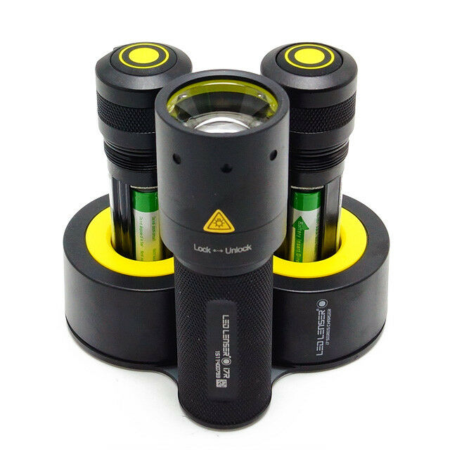LED Lenser i7DR Rechargeable Flashlight Torch 220 Lumens