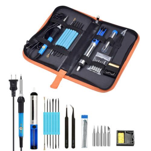 110V 60W Electric Soldering Iron Gun Tool Kit Welding Desoldering Pump Tool Set