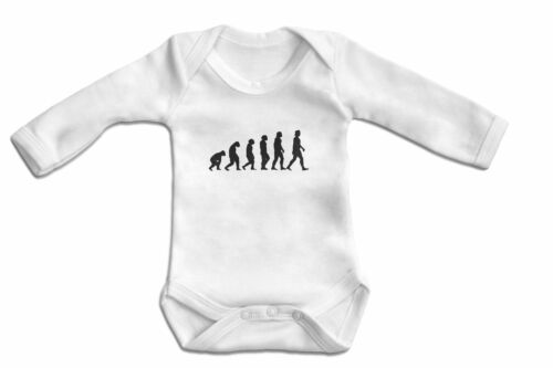 Long Sleeve-Baby Bodysuit Baby One Piece Evolution Baby Onesie-100/% Cotton