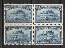Canada #99 VF/NH Block With Perfect Gum