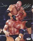 Bill Goldberg & Sid Vicious Signed WWE 8x10 Photo PSA/DNA COA WCW Picture Auto'd