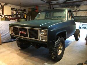 1982 Gmc k 30 pickup