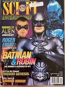 Sci Fi Entertainment July 1997 Batman and Robin, 40 Years of Hammer Hor ID:50618