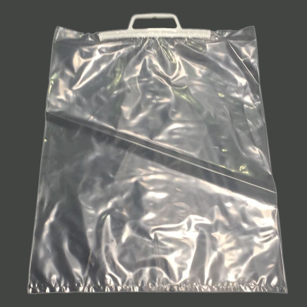 Clip Close Handle Clear Polybags Choose Size Qty