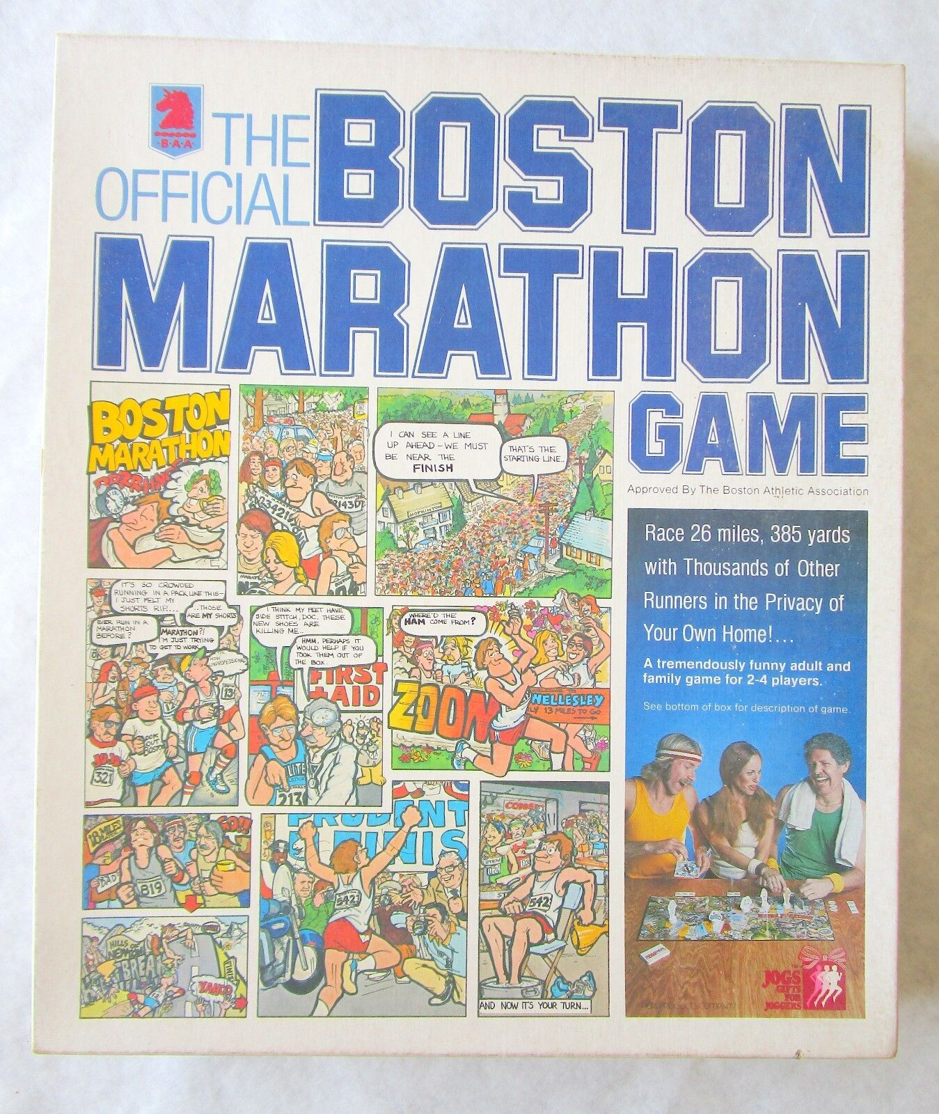VINTAGE Complete Boston Marathon Board Game Cards still sealed new perl products