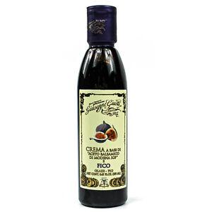 Aceto-Balsamico-di-Modena-IGP-034-Fico-034-Cream-250-ML-Fig-Balsam-Vinegar-Crema