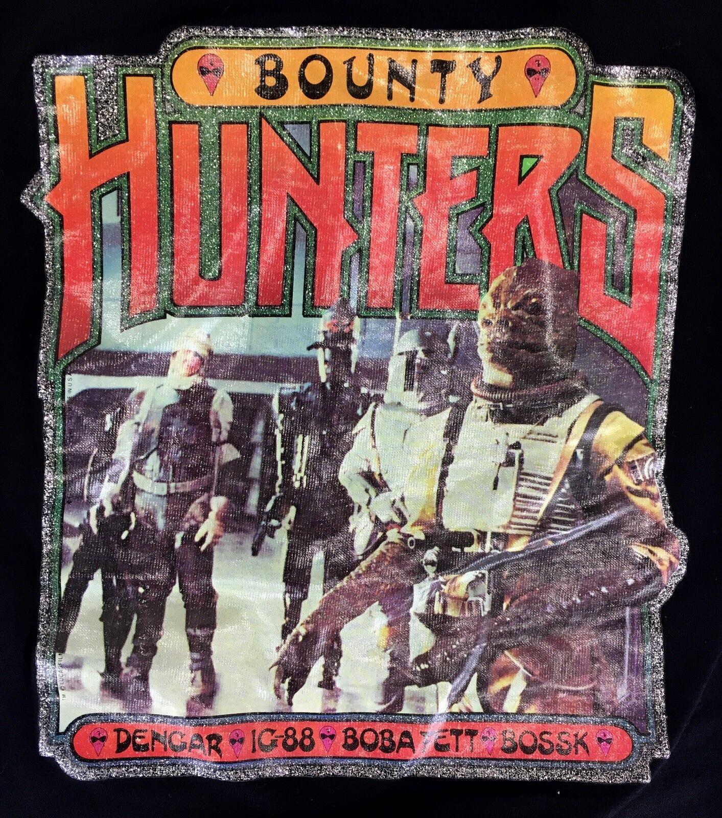 1980 STAR WARS Vintage T-SHIRT Bounty Hunters Sz M Boba Fett IG-88 Bossk Dengar