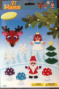 Hama Gp 3430 Weihnachten Midi Bügelperlen Engel Elch Schnee