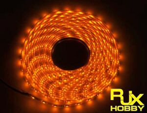 RJX-Night-Flight-LED-Wire-1M-Yellow-for-FPV-For-RC-Airplane-Helicopter-Drones