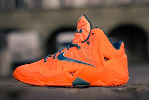 Scarpe Lebron Xi da Aa nuove arancio Sku ginnastica 616175 atomico 800 Air Nike Wx1Z1Bw