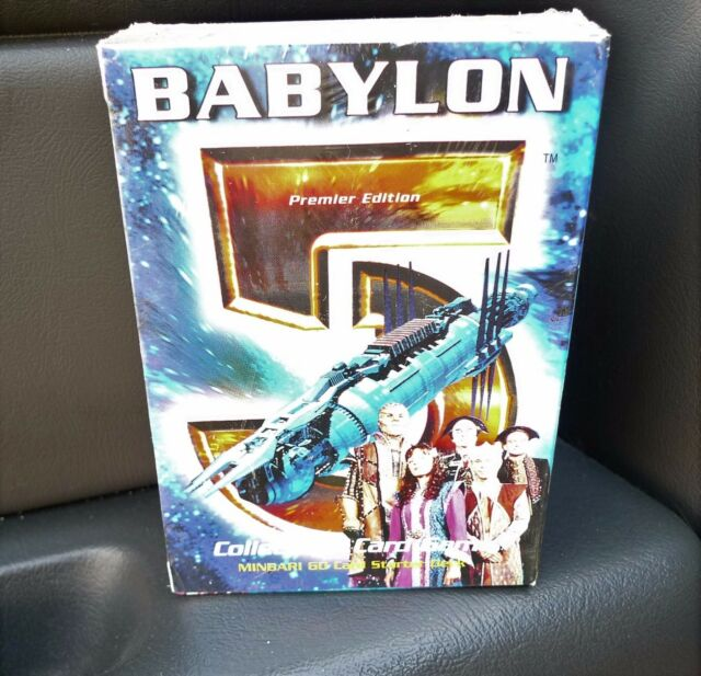 Babylon 5 CCG Premier Edition Starter Deck Minbari 60 Cards Box Sealed New