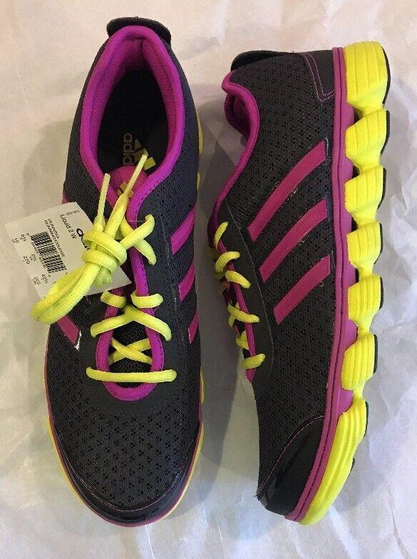 Adidas Liquid 2 W Running Shoe - Gray/Vivid Pink/lime Price reduction - 10