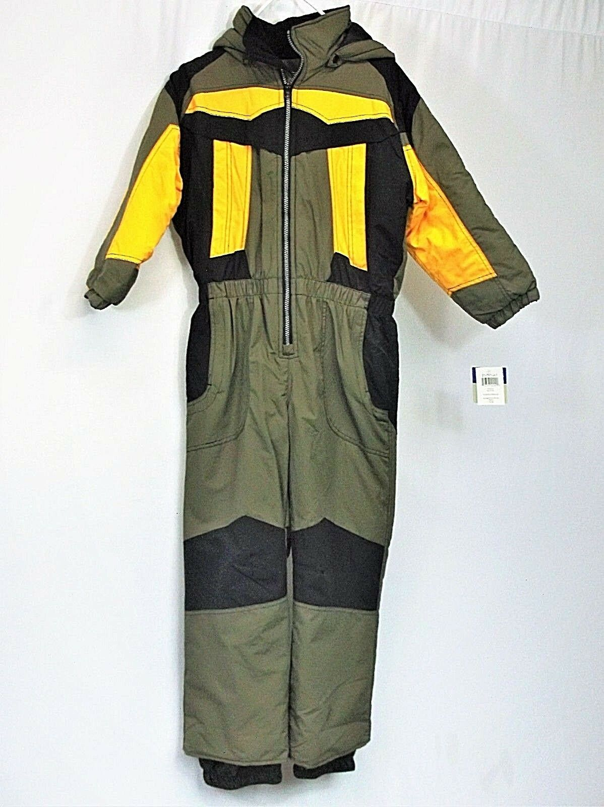 Sportscaster Insulated Snowsuit  for Teens -youth Small One Piece Suit. WINDPROOF  free shipping