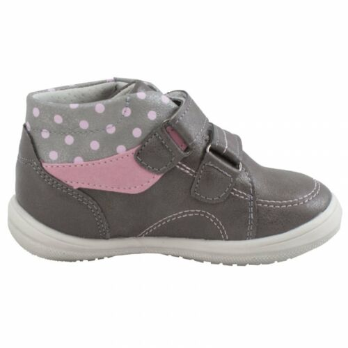 NEW BABY GIRLS LEATHER LINED TRAINERS FIRST WALK WINTER SHOES STRAPS ANKLE BOOTS