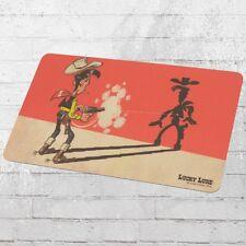 Logoshirt Frühstücksbrettchen Lucky Luke Faster Than Shadow bunt Schneid-Brett