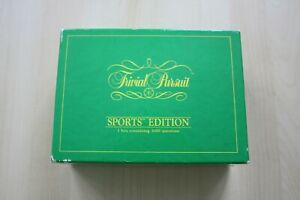 Vintage-Trivial-Pursuit-Sports-Edition-500-cards-3000-questions-1987-VGC