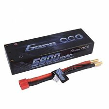 Gens ace 5800mAh 2S 7.4V 100C 200C Lipo Battery Pack Hardcase 10 Deans Plug Car