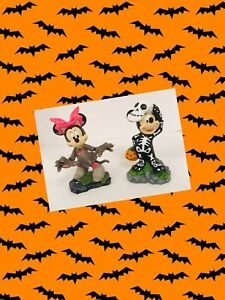 DISNEY-2019-HALLOWEEN-MICKEY-AND-MINNIE-MOUSE-SPOOKY-FIGURINES-SKELETON-AND-CAT